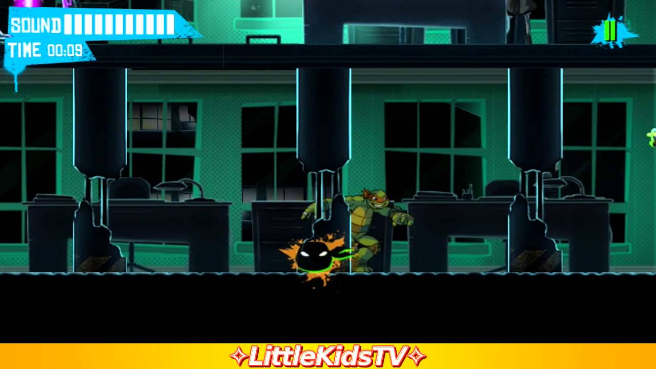 [✧LittleKidsTV✧] Teenage Mutant Ninja Turtles Shadow Heroes - TMNT Game For Kids