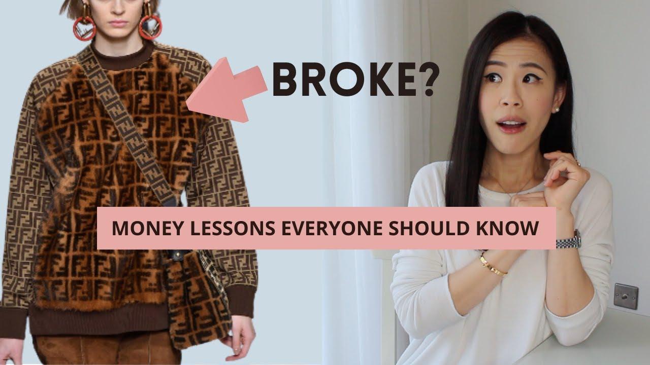 Still Wearing All Designers? MONEY LESSONS I WISH I KNEW | luxury minimalist shopping mindset AD