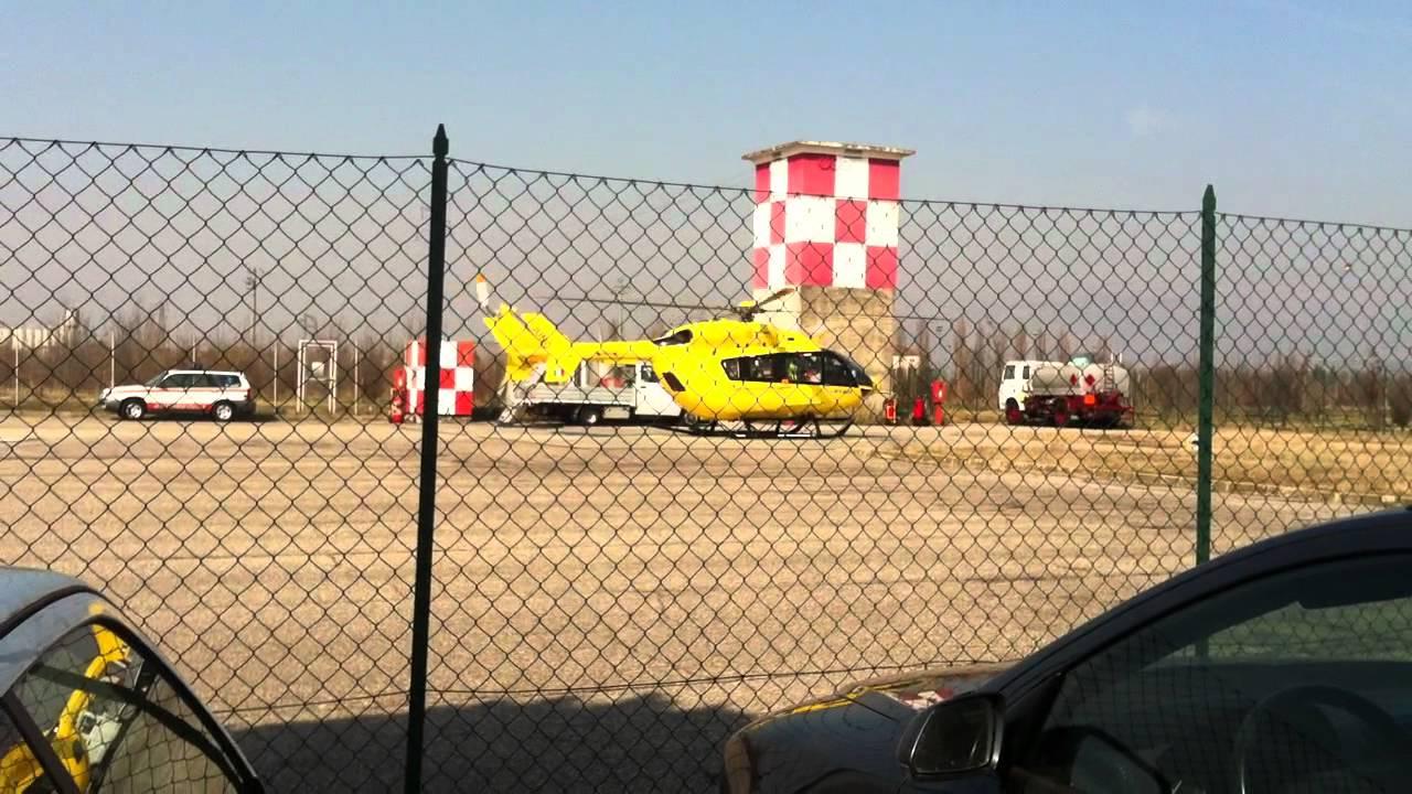 Elicottero 118 Verona : Decollo elicottero emergenza verona youtube