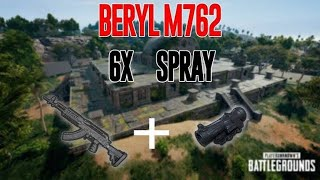 Full Domination | How To Control M762+6X Spray | PUBG MOBILE