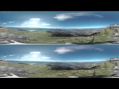 Austrian Landscape VR 360 Stereo: Schafberg