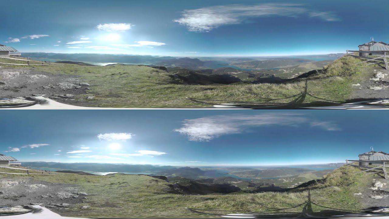 austrian landscape vr 360 stereo