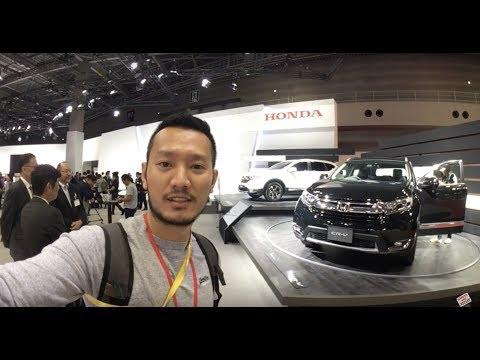 |TMS 2017| Khám phá chi tiết Honda CR-V 2018 7 địa điểm