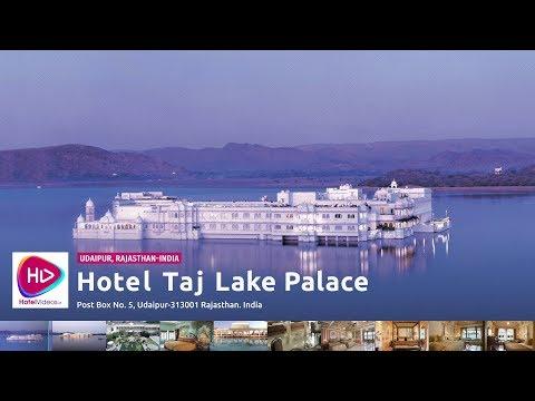Hotel Taj Lake Palace Udaipur Rajasthan India - Hotel Videos