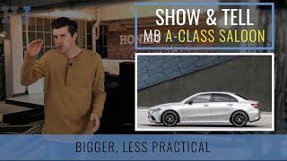 Show & Tell | Car News | Mercedes-Benz A-Class Saloon 2019
