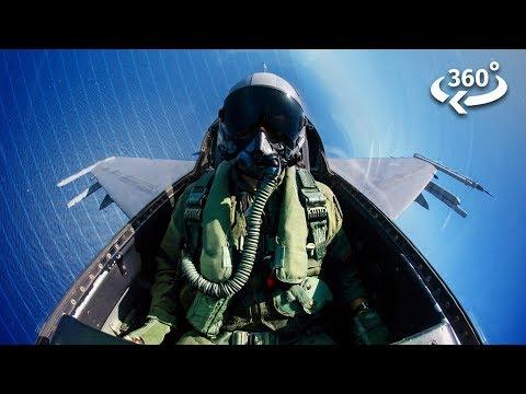 Riding Shotgun in a Fighter Jet