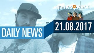 INFO: K(l)eine News am Montag | Gamesworld Daily News - 21.08.2017