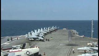 أخبار عالمية   إقتراب 3 حاملات طائرات عسكرية أمريكية من #كوريا_الشمالية