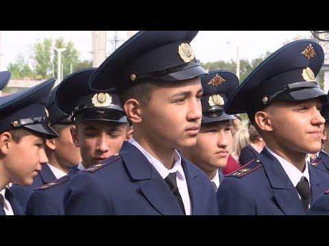 Как в Волгограде открывали кадетский корпус СК России