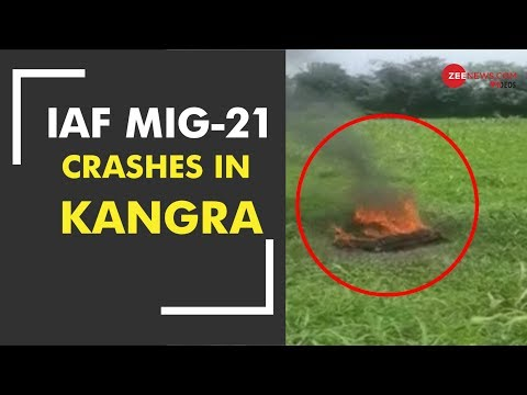 MiG-21 aircraft crashes in Himachal Pradesh