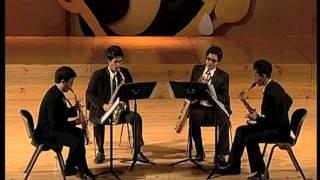 "Quatour de saxophones ""II"" by Alain BERNAUD / Siam Saxophone Quartet"