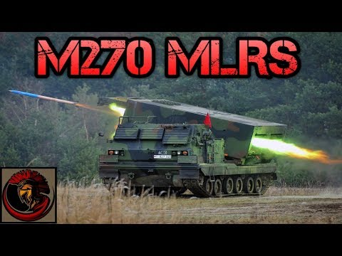M270 MLRS (Multiple Launch Rocket System) | ROCKET ARTILLERY