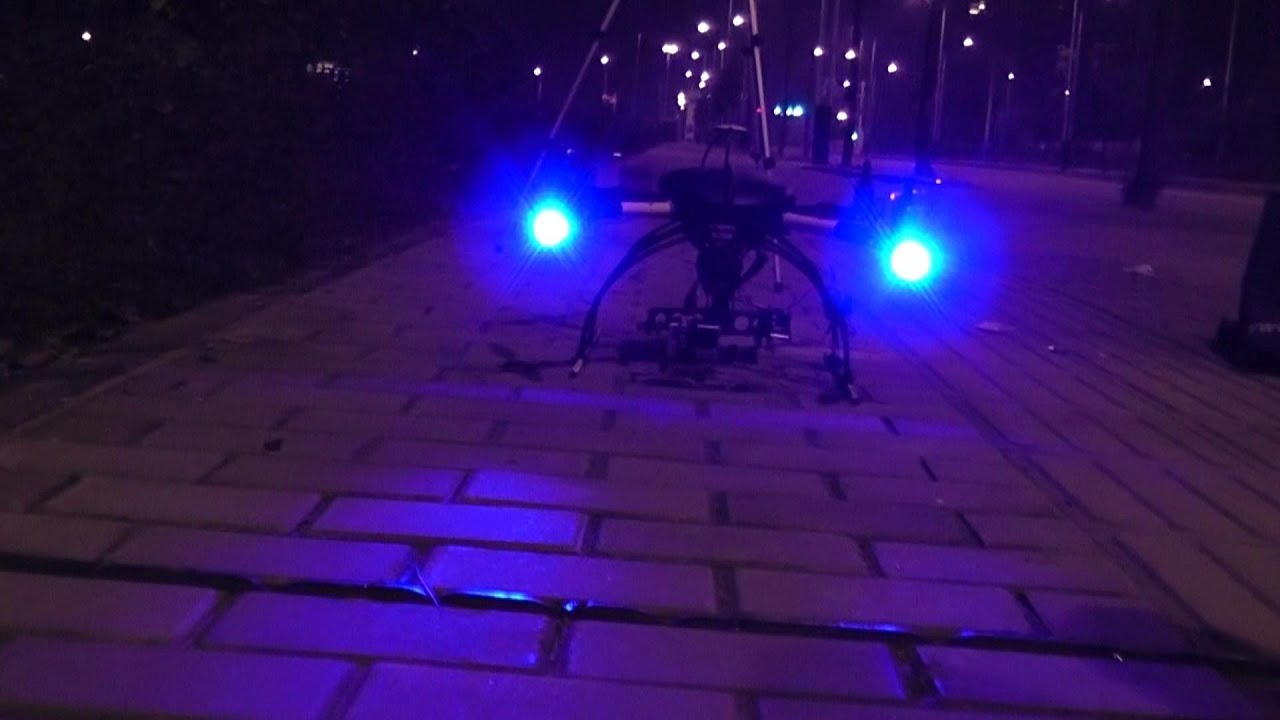 Aerial Suveillance Drone With Night Vision Camera Ofm