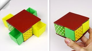 DIY paper box easy   How to make paper box
