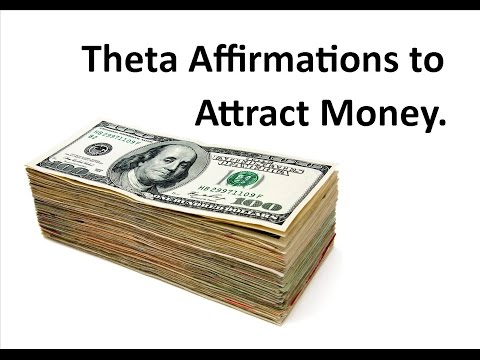 Powerful Money Affirmations in Theta - Manifest Prosperity (Try this!)