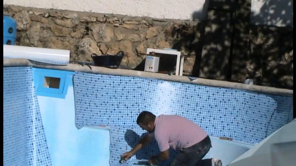 reforma de piscina mediante l mina armada mejora de