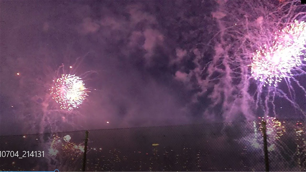 live fireworks show  new york || big fire works ever seen before || nyc fireworks