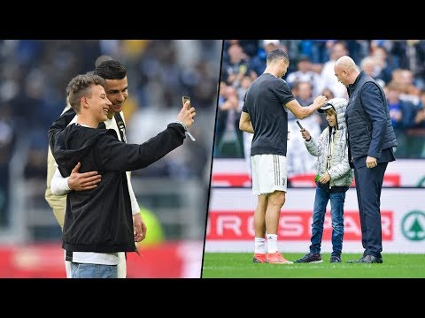Cristiano Ronaldo Respect & Emotional Moments With Fans 2019 😍