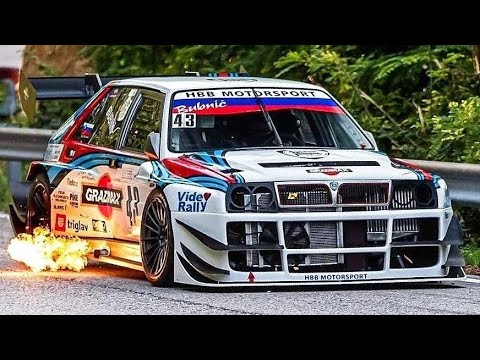 700Hp Lancia Delta Integrale Evo || Amazing Turbo Sounds & Flames