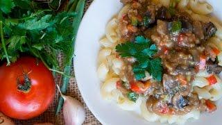 Грибной гуляш|Mushroom goulash