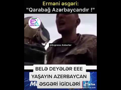 Ermeni Esgeri: Qarabag Azerbaycanindi! Армянский соладт признался что Карабах это Азербайджан!