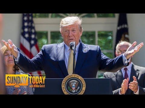 Trump Touts Successes, Slams Critics Ahead Of Re-Election Kickoff   Sunday TODAY
