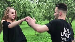 Парные танцы: хастл от преподавателей AlphaDance - студии танцев на Таганке