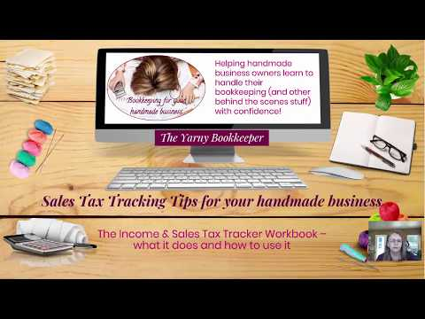 How to Use the Income & Sales Tax Tracker Spreadsheet