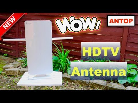 😍 ANTOP TV  Antenna - Review  (New) 2018 ✅