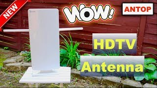 😍 ANTOP TV ❤️  Antenna - Review  ✅