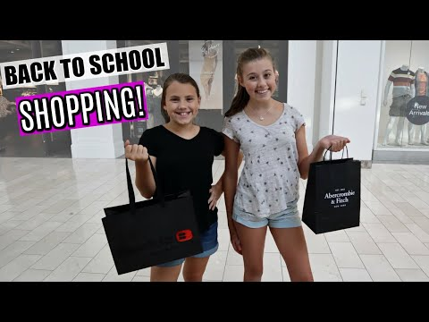Back To SCHOOL Teen Clothes Shopping Trip!