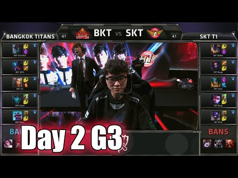 Bangkok Titans vs SK Telecom T1 | Day 2 Game 3 Group C S5 World Championship 2015 | BKT vs SKT D2G3