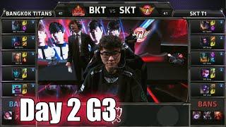Bangkok Titans vs SK Telecom T1 | Day 2 Game 3 Group C S5 World Championship 2015 | BKT vs SKT D2G3