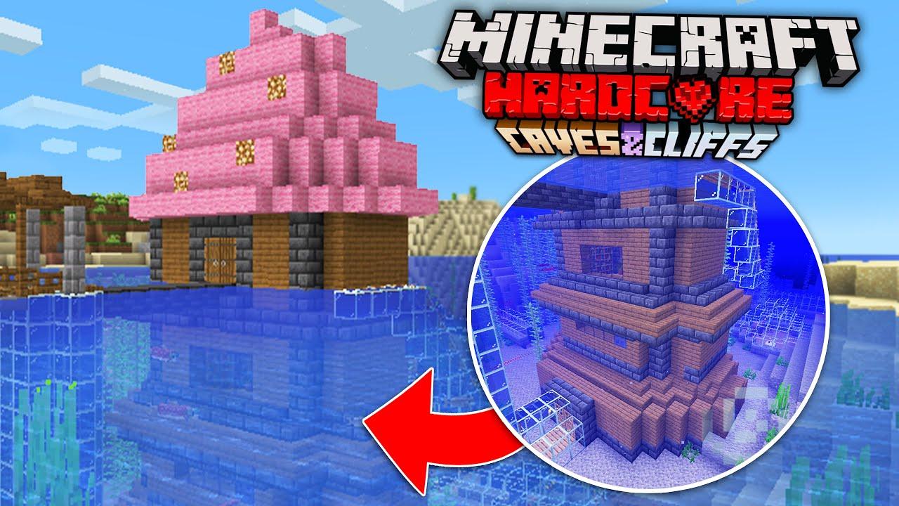 Upgrading My House In Minecraft Hardcore 1.17!