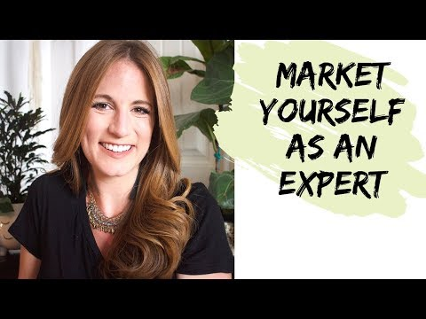 Market Yourself as an Expert in Private Practice