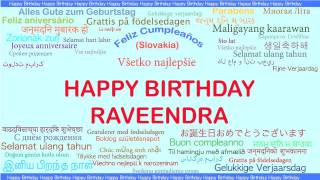 Raveendra   Languages Idiomas - Happy Birthday