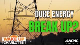 NC Lawmakers Oppose Duke Energy Split