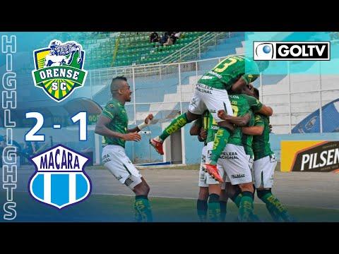 Orense Macara Goals And Highlights