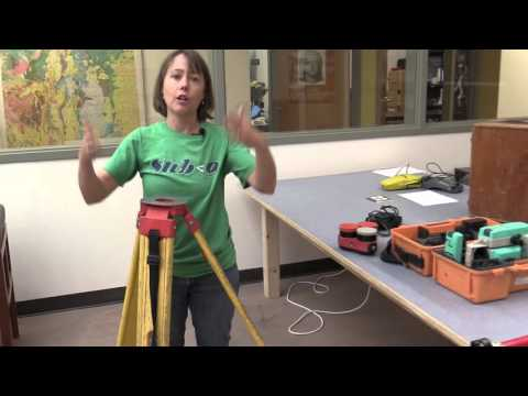 Using a total station (part 1 of 7)