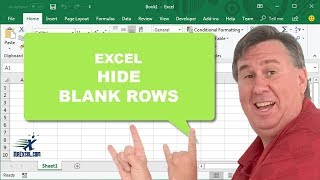 "Learn Excel - ""Hide Blank Rows"" - Podcast #1738"