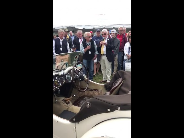 Wayne Carini talks about Peter Kumar and ​​1938 Jaguar SS 100 3.5