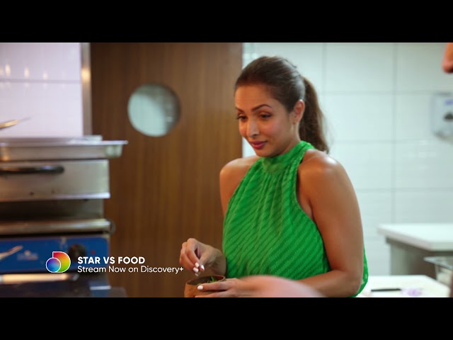 Malaika Arora Accepts The Ultimate Cooking Challenge | Star Vs Food | discovery+