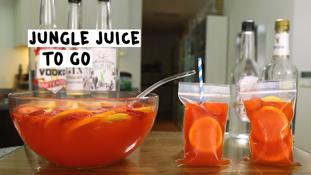 Jungle Juice To Go - YouTube
