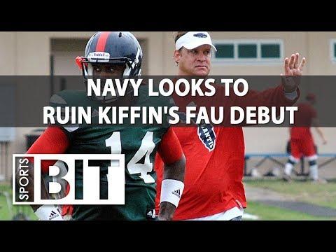 Navy at Florida Atlantic | Sports BIT | NCAAF Picks