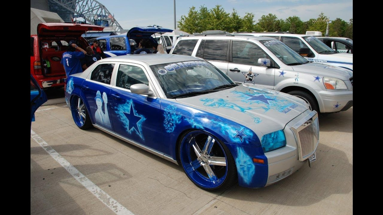 Customize Dallas Cowboys Car Club! - YouTube