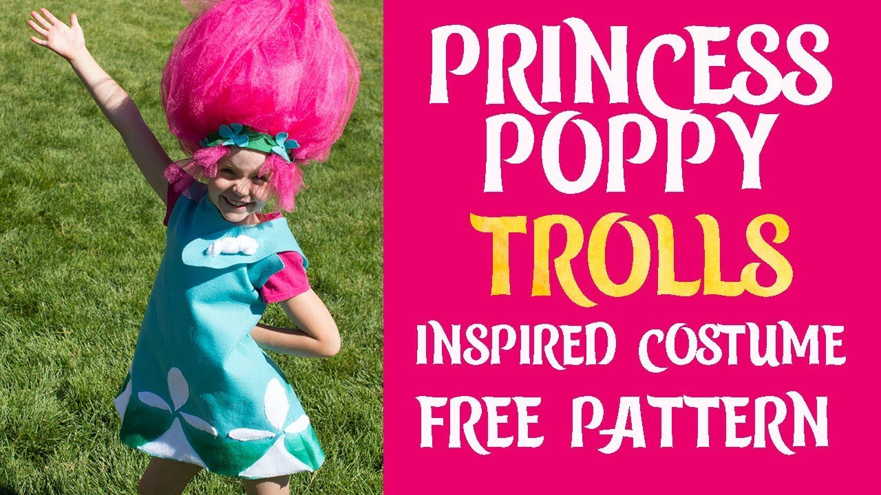 38b6643a454 DIY Princess Poppy Costume - YouTube