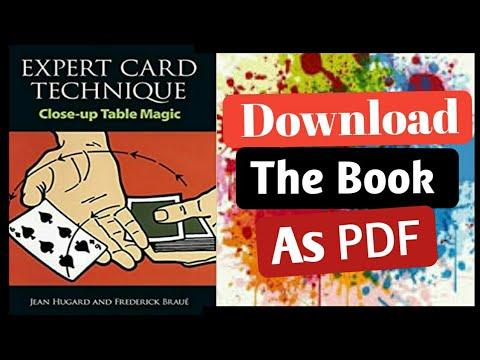 expert card technique pdf download free