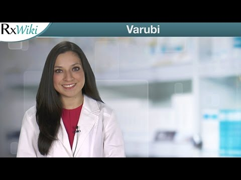 Varubi is a Prescription Medication to Help Prevent Nausea and Vomiting After Certain Chemotherapy