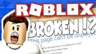 ROBLOX IS BACK!? BIG UPDATE? WHAT WILL I PLAYYYYY!