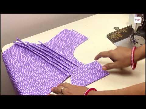 बचे हुए कटिंग के कपड़े में से बनाये ये सूंदर डिज़ाइनर टॉप Designer Top Kurti Kameez Suit cutting